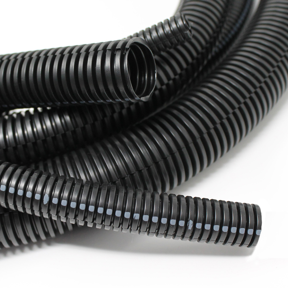 Wiring Duct For Electric Wire Protection Tube Flexible Conduit Drossbach Corrugated Plastic Tubing Solutions Learn More